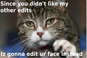 hate your edits cat